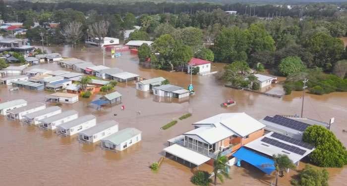 Evacuan en australia a miles por las peores inundaciones en décadas   La Opción de Chihuahua