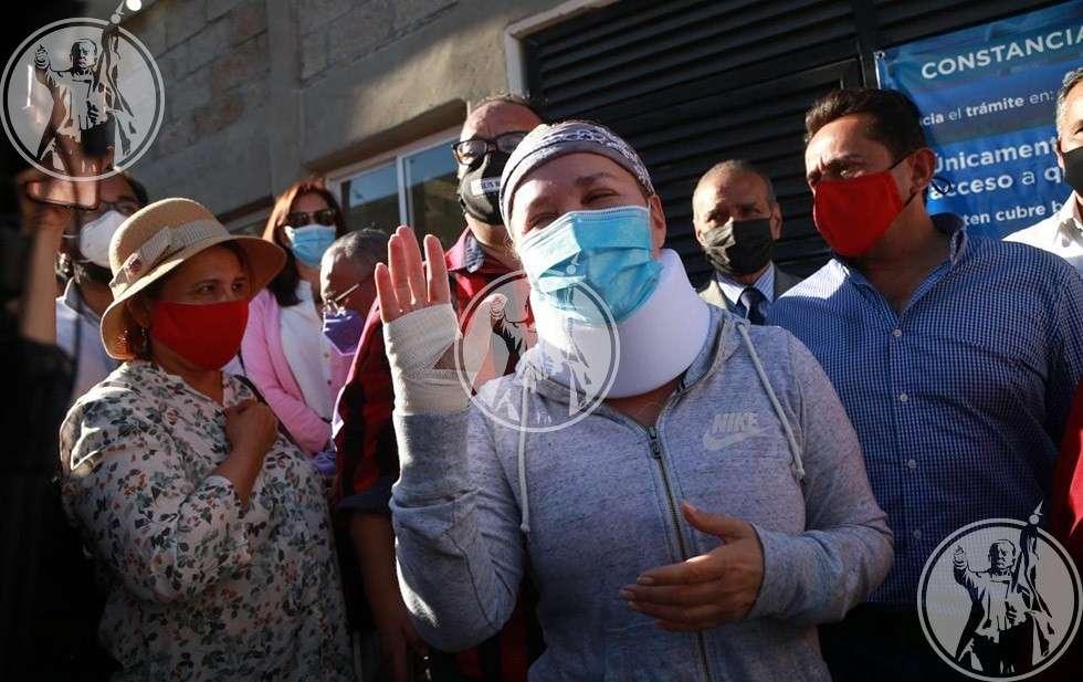 Detienen a candidata de Ciudad Juárez durante manifestación