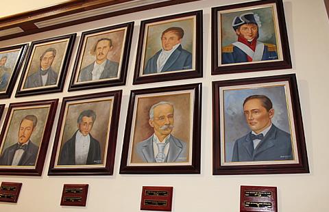 Falta pintura de José Joaquín Calvo en Salón Gobernadores del Palacio de Gobierno