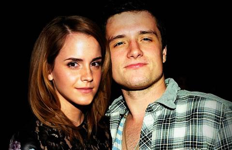 Emma watson dating josh hutcherson