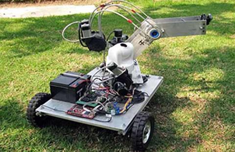 Resultado de imagen para ROBOT RESCATISTA EN EL IPN