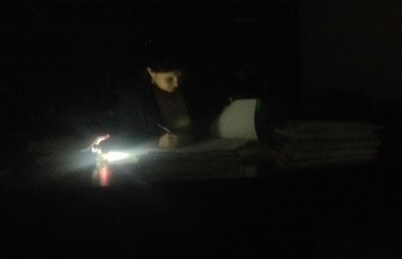 Cancelan decenas de audiencias en los juzgados por falta de luz