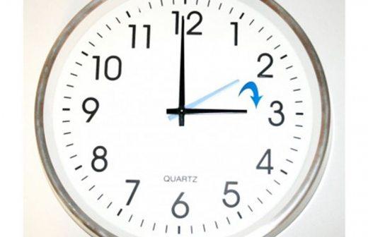 El Mañana Una Reloj Horario De Inicia VeranoNo Olvide Adelantar qVULMpGSz