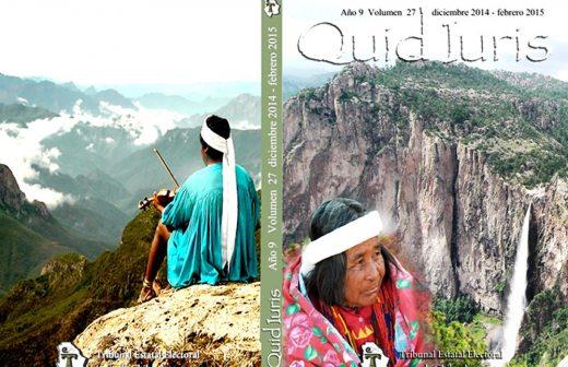 Presentan la edición 27 de la revista Quid Iuris