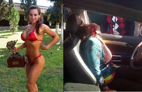 Investigan asesinato de Miss Fitness en Coahuila