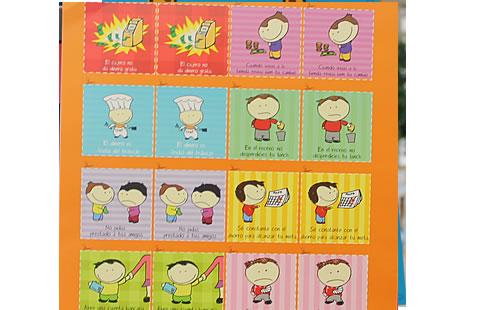 Memorama de los derechos de los niños - Imagui