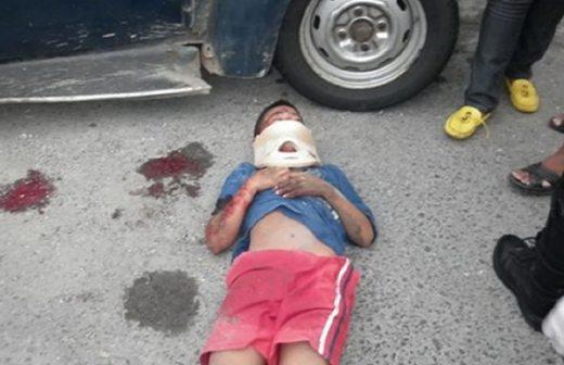 Muere niño de 7 años atropellado en el Distribuidor Metropolitano