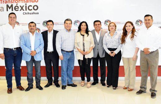 Designan a Alejandro Domínguez coordinador de los diputados federales del PRI de Chihuahua