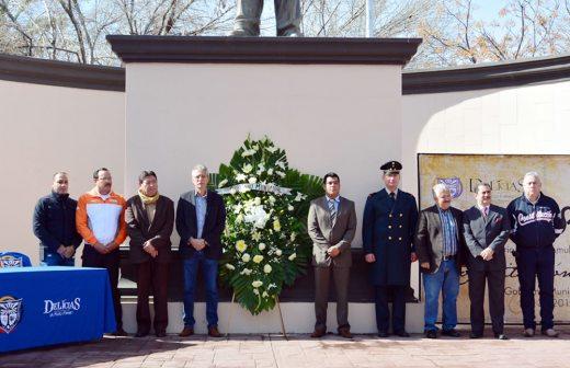 Conmemoran en Delicias el 98 aniversario de la Constitución