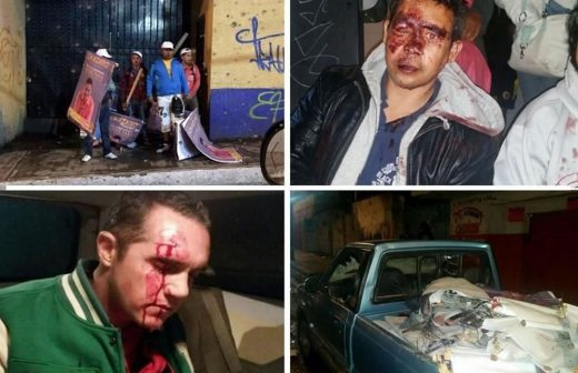 Video: se enfrentan del PRI y PRD en Cuajimalpa y deja varios lesionados