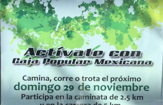 Realizará Caja Popular Mexicana su 2ª carrera pedestre