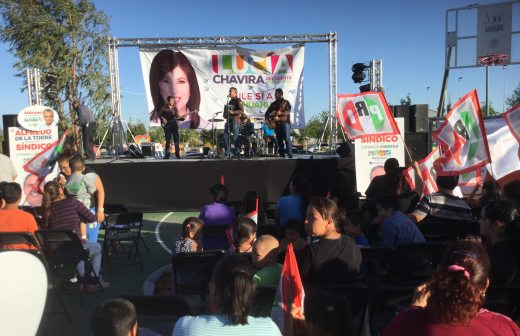 Realiza PRI evento masivo en la colonia Huerta Legarreta
