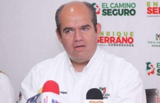 Deslinda el PRI a Enrique Serrano por detención de candidato suplente de Morena