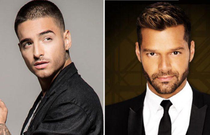 Maluma y Ricky Martin ¿Juntos?