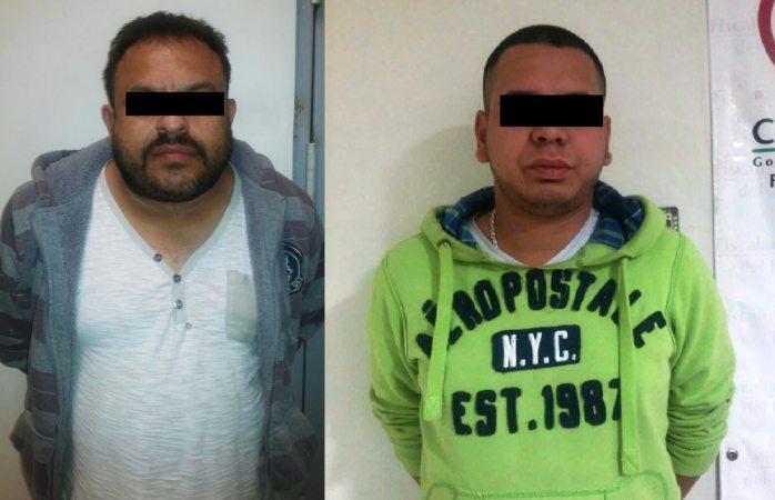 Arrestan a El Chapito y El Pescadito con 76 globitos de coca