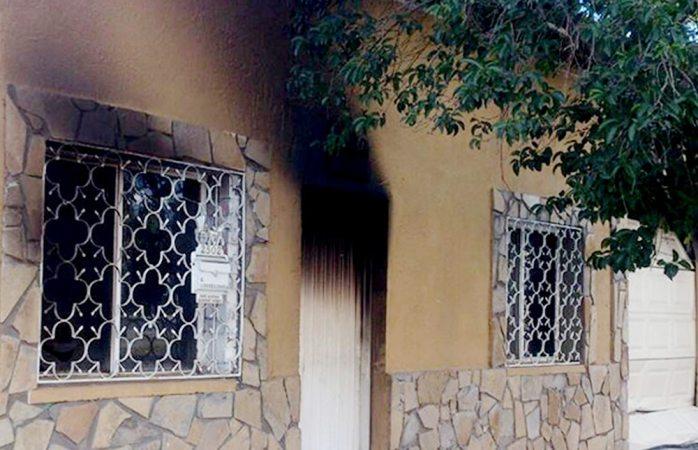 Muere octogenaria en incendio en la colonia Santo Niño