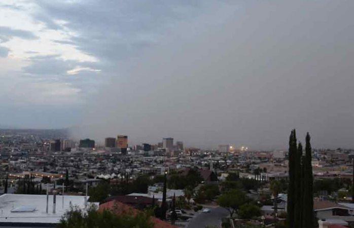 Azota a el paso tormenta con r fagas de viento que alcanzaron 112 kph la opci n de chihuahua - La hora en el paso texas ...