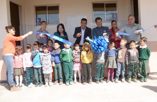 Baños Jardin Infantil:Entregan rehabilitación de baños y suministros en jardín de niños