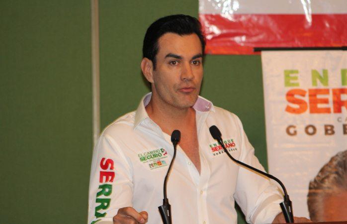 Acompaña David Cepeda a Serrano en encuentro con jóvenes priístas