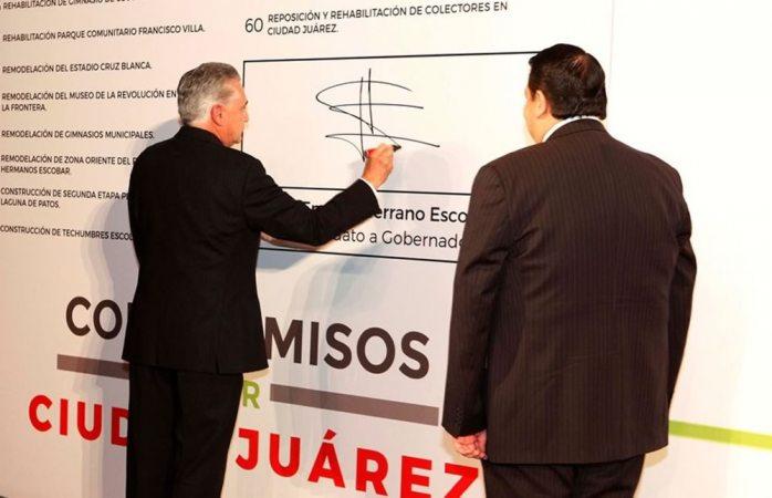 Checa las 60 acciones del Plan de Gobierno que presentó Serrano