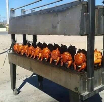 Pollos estilo Monterrey
