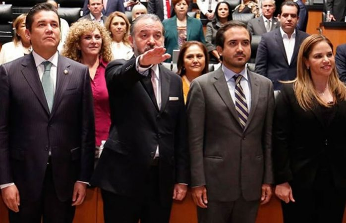 Arely Gómez rinde protesta como secretaria de la Función Pública