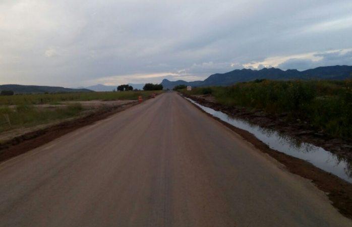 Reparan Carril Deslavado En La Bachiniva A Soto Máynez La Opción