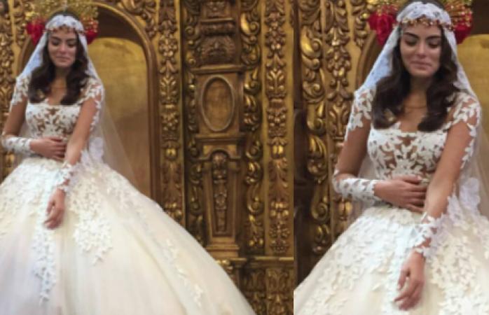 Imagenes del vestido de novia de ximena navarrete