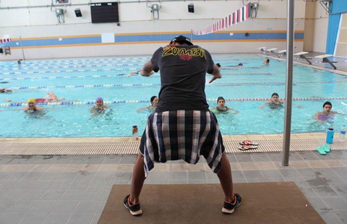 Invita Instituto Municipal de Deporte a clases de aqua zumba