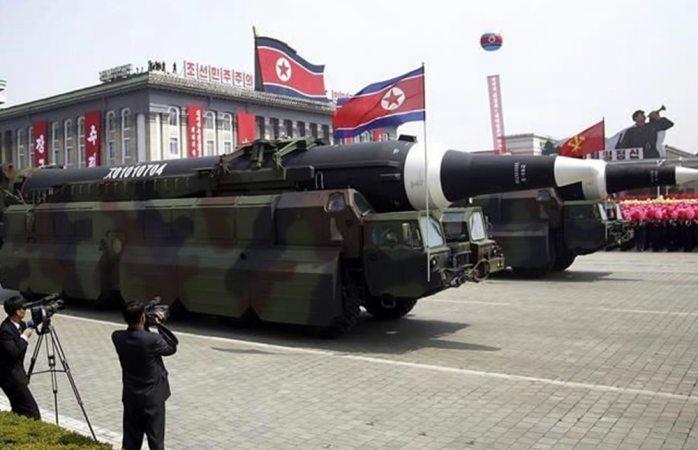 Corea del Norte emitió imágenes de un ataque simulado a Estados Unidos