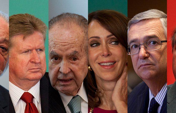 Los más ricos de México, el mismo club de cada año: Forbes