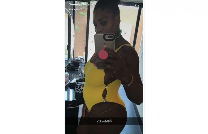 Presume embarazo Serena Williams
