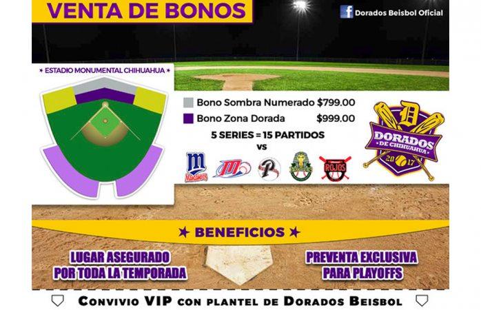 Avanza venta de Bonos Dorados para temporada 2017