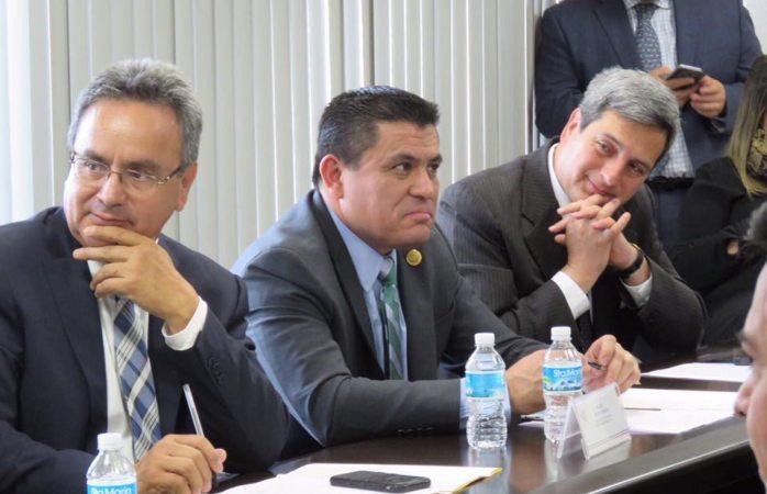 Sostuvo reunión Peniche con legisladores federales de Comisión de Justicia