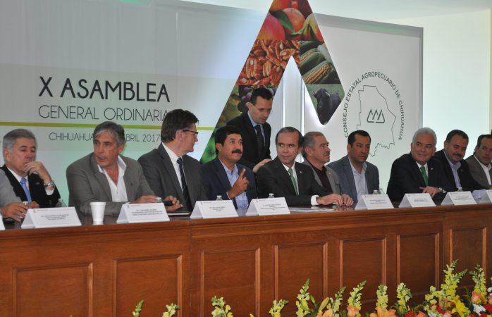 Instalan X asamblea del Consejo Estatal agropecuario