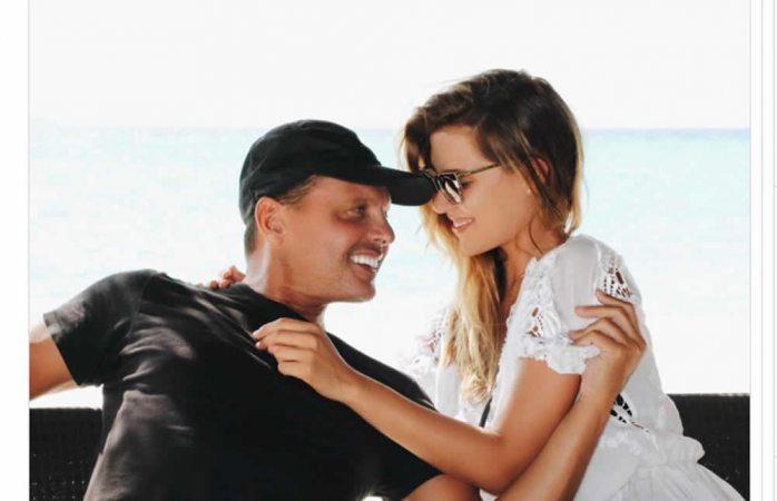 Michelle Salas comparte tierna foto con Luis Miguel