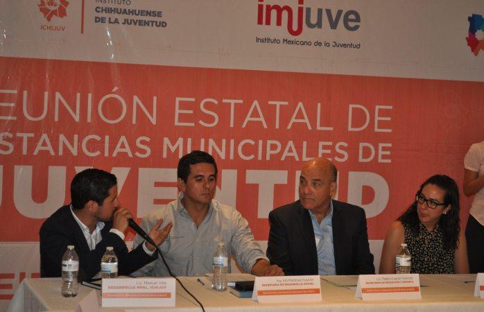 Realizan tercera reunión de Instancias Municipales de juventud