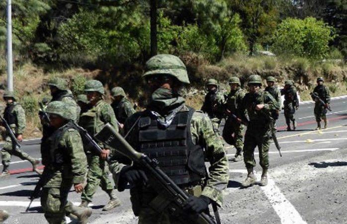 Militares y estatales peinan triángulo dorado