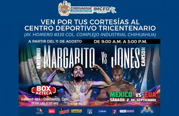 Invitan a acudir por boletos para la pelea México vs EU