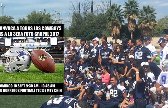 Convocan a los fans de Cowboys a foto anual, buscan reunir a 600 personas