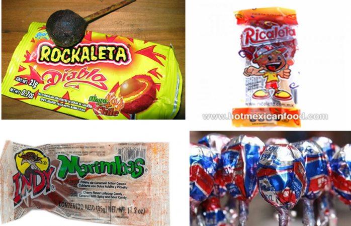 Detectan plomo en dulces de alto consumo