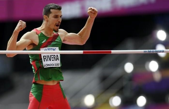 Histórico salto de Édgar Rivera en mundial de atletismo