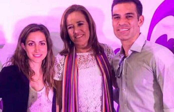 Margarita Zavala también borró su foto con Rafa