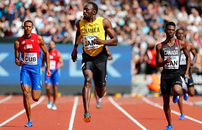 Bolt madruga para su última salida