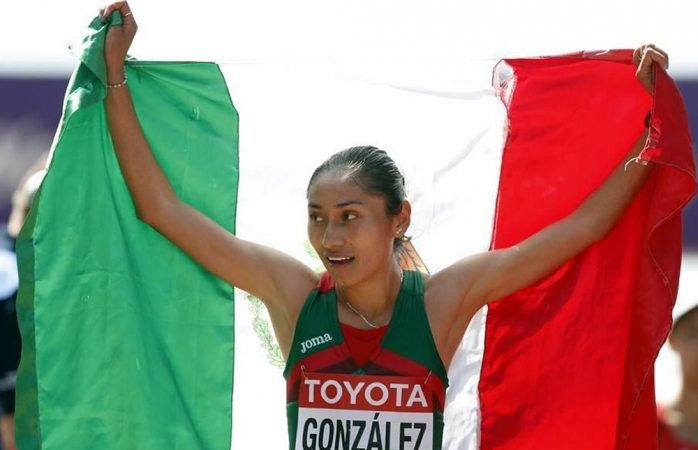 Gana mexicana plata en Mundial de Londres