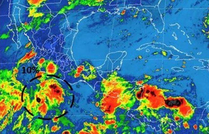 Alertan desarrollo ciclónico en costas de Guerrero