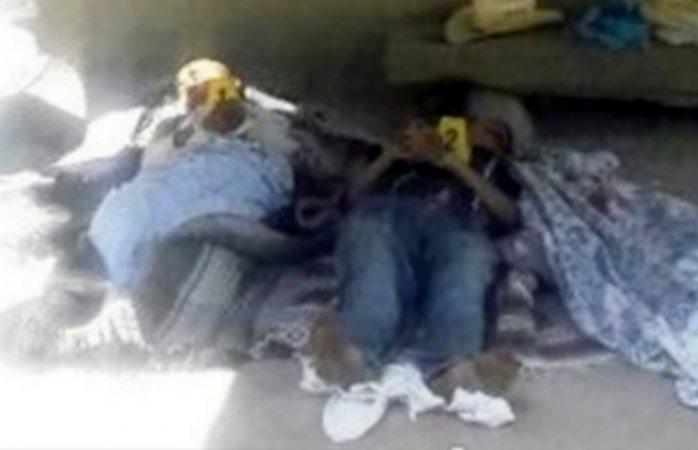 Tumban la puerta y ejecutan a hermanos en Baborígame