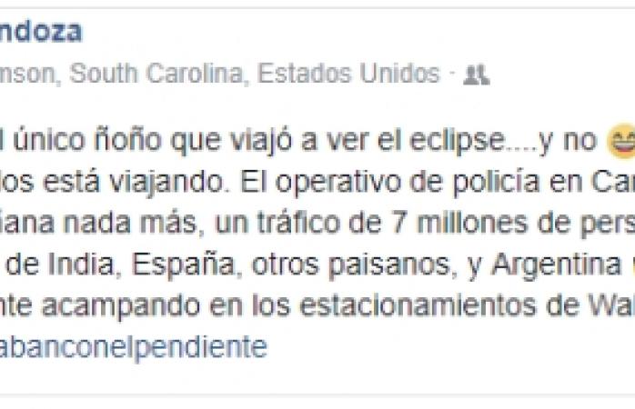 Viajan chihuahuenses a Carolina del Sur solo a ver el eclipse de sol