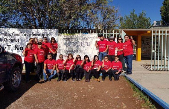 Paro de labores en el Cecyt 5 de San Juanito