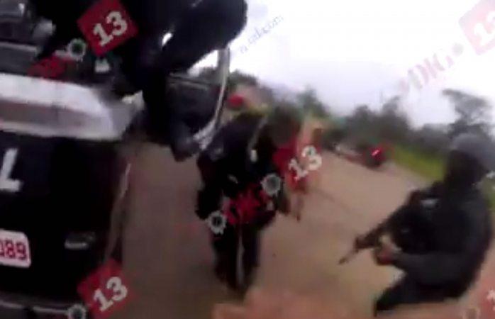 Videobalazos: Iban sicarios a rescatar detenidos en Madera